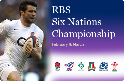 Rugby RBS Six Nations Championship matches